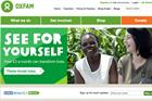 Oxfam unveils overhaul of global brand identity
