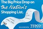Tesco launches Big Price Drop campaign