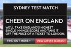 BA targets disgruntled Aussies with online Ashes campaign