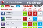 Facebook reclaims top spot as Lego breaks into BR app chart (6 Apr)