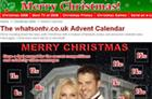 Whatsontv.co.uk gets festive with Christmas microsite
