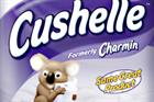 Charmin toilet tissue ditched for Cushelle