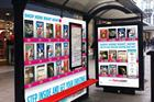 HMV and Fox take DVD shopping to bus shelters