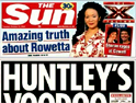 The Sun's gossip page Bizarre wins national slot on MTV