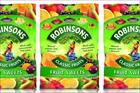 Britvic launches Robinsons into sweets category