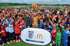 McDonald's in football push