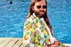 Stella Cidre's hipster poolside floral suit targets cider lovers and fashion victims