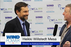 Windpower TV -  Spanish Wind Energy Association policy director Heikki Willstedt