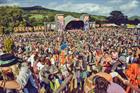 Cowshed to promote Green Man music festival