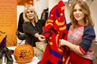 Unity promotes M&S' Little Shwop of Horrors with Joanna Lumley