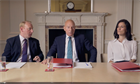 Watch: The Guardian teams up with Patrick Stewart for Pythonesque EU parody