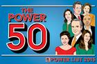Power List 2015: The Power 50