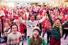 Save the Children hands Dundas Christmas Jumper Day brief