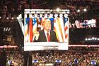 From Cleveland: Trump thunders 'law and order' theme to close convention