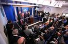 Your call: Is the White House press briefing actually better off-camera?