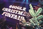 Google holds staff party at London's Troxy