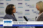 Windpower TV - GE vice president of renewables Anne McEntee