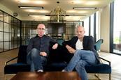 Anomaly's new creative directors Ben Carey (l) and Henrik Delehag (r) AKA 'Benrik'