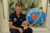 RHS: the charity sent seeds to space with astronaut Tim Peake