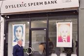 "Made by Dyslexia ""Dyslexic sperm bank"" by Y&R London"