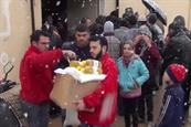 """Red Cross Flanders """"Merry Christmas from Syria"""" by Duval Guillaume"""