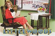 Littlewoods dresses up Coleen Rooney to celebrate 80 years of catalogues