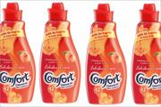 Unilever rolls out £2m Comfort Exhilarations campaign