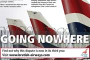BA targeted by fresh union attack ads