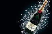 Which Champagne brand is most prominent online? Brand barometer