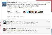 British Airways apologises for offensive tweet