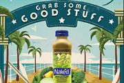 Naked Juice smoothies unveils major sampling drive