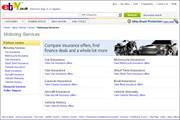EBay to add motoring services website