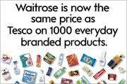 Waitrose price cuts 'won't devalue brand'