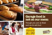 Shell admits failings of garage food in tongue-in-cheek campaign