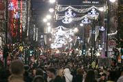 Retail sales jump in the run-up to Christmas