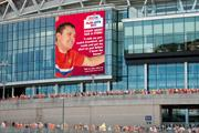 Npower promotes Football League sponsorship with 'shirt' ads