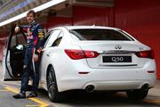 Infiniti signs F1 star Sebastian Vettel as performance director