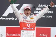 Santander agrees McLaren F1 extension