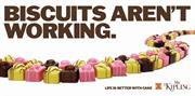 Classic election poster gets Mr Kipling 'cakeover'