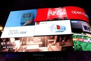 Burberry joins Coca-Cola and Samsung with Piccadilly Circus placement