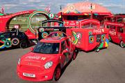 Five Coke vehicles to travel Olympic torch relay route