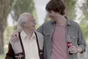 Coke anti-obesity campaign says 'Live like Grandpa did'