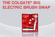 Colgate takes #brushswap campaign online in a bid to regain credibility