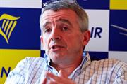 Ryanair profits drop 29% in first quarter despite marketing uplift
