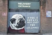 Dogs Trust commissions artists to bring 'dog is for life' slogan to the street