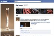 Burberry rolls out Facebook sampling drive