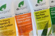 Holland & Barrett launches dr.organic chemical-free toiletry range