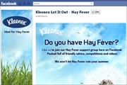 Kleenex to help hay fever sufferers via social media