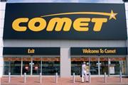 Comet's power failure
