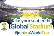 Fifa targets social World Cup fans with 'Global Stadium' digital hub